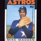 1986 Topps Baseball #691 Mike Madden - Houston Astros