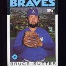 1986 Topps Baseball #620 Bruce Sutter - Atlanta Braves