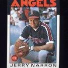 1986 Topps Baseball #543 Jerry Narron - California Angels