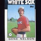 1986 Topps Baseball #493 Gene Nelson - Chicago White Sox