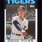1986 Topps Baseball #436 Doug Flynn - Detroit Tigers