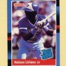 1988 Donruss Baseball #032 Nelson Liriano RR - Toronto Blue Jays