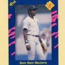 1990 Classic Blue Baseball #133B Hensley Meulens - New York Yankees