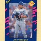 1990 Classic Blue Baseball #110 John Wetteland - Los Angeles Dodgers