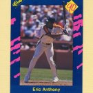 1990 Classic Blue Baseball #070 Eric Anthony - Houston Astros