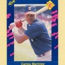 1990 Classic Blue Baseball #056 Carlos Martinez - Chicago White Sox