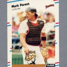 1988 Fleer Update Baseball #125 Mark Parent - San Diego Padres