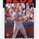 1986 Topps Baseball #253 Dann Bilardello - Cincinnati Reds