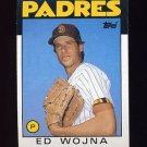 1986 Topps Baseball #211 Ed Wojna - San Diego Padres