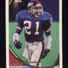 1994 Topps Football #629 Willie Beamon - New York Giants