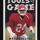 1994 Topps Football #552 Mark Collins TOG - Kansas City Chiefs