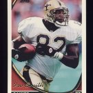1994 Topps Football #527 Irv Smith - New Orleans Saints