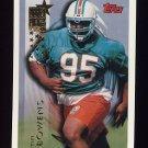 1994 Topps Football #437 Tim Bowens RC - Miami Dolphins