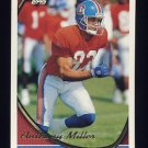 1994 Topps Football #425 Anthony Miller - Denver Broncos