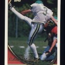 1994 Topps Football #408 Eddie Murray - Philadelphia Eagles