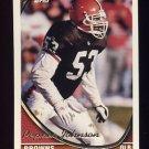 1994 Topps Football #387 Pepper Johnson - Cleveland Browns