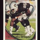 1994 Topps Football #321 Alexander Wright - Los Angeles Raiders
