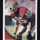 1994 Topps Football #293 Eric Davis - San Francisco 49ers