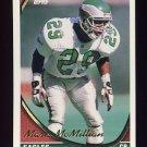 1994 Topps Football #292 Mark McMillian - Philadelphia Eagles