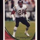1994 Topps Football #168 Darren Carrington - San Diego Chargers