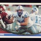 1994 Topps Football #063 David Richards - Detroit Lions