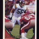 1994 Topps Football #037 Jack Del Rio - Minnesota Vikings