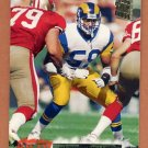 1994 Stadium Club Football #503 Henry Rolling - Los Angeles Rams