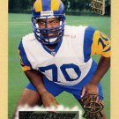 1994 Stadium Club Football #208 Wayne Gandy - Los Angeles Rams