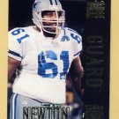 1994 Stadium Club Football #105 Nate Newton BO - Dallas Cowboys