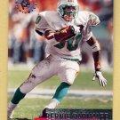 1995 Stadium Club Football #176 Bernie Parmalee - Miami Dolphins