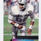 1995 Stadium Club Football #137 James Jett - Oakland Raiders