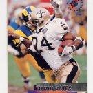 1995 Stadium Club Football #111 Mario Bates - New Orleans Saints