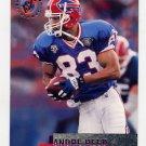 1995 Stadium Club Football #067 Andre Reed - Buffalo Bills
