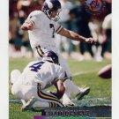 1995 Stadium Club Football #063 Fuad Reveiz - Minnesota Vikings