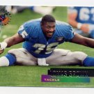 1995 Stadium Club Football #036 Lomas Brown - Detroit Lions