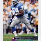 1995 Stadium Club Football #011 Mike Johnson - Detroit Lions