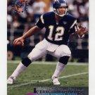 1995 Stadium Club Football #002 Stan Humphries - San Diego Chargers
