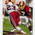 1996 Stadium Club Football #095 Ken Harvey - Washington Redskins