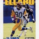 1992 Skybox Impact Football #152 Henry Ellard - Los Angeles Rams