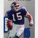 1992 Skybox Prime Time Football #207 Jeff Hostetler - New York Giants