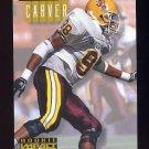 1994 Skybox Impact Football #295 Shante Carver RC - Dallas Cowboys
