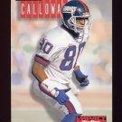 1994 Skybox Impact Football #191 Chris Calloway - New York Giants