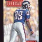 1994 Skybox Impact Football #190 Mike Sherrard - New York Giants