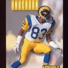 1994 Skybox Impact Football #137 Flipper Anderson - Los Angeles Rams