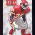 1994 Skybox Impact Football #119 Dale Carter - Kansas City Chiefs