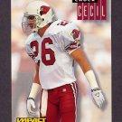 1994 Skybox Impact Football #010 Chuck Cecil - Arizona Cardinals