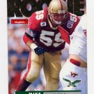 1995 Skybox Impact Football #175 Mike Mamula RC - Philadelphia Eagles