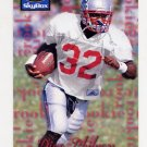 1995 Skybox Premium Football #178 Dino Philyaw RC - New England Patriots
