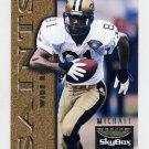 1995 Skybox Premium Football #086 Michael Haynes - New Orleans Saints