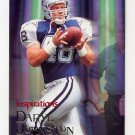 1996 Skybox Impact Football #190 Daryl Johnston I - Dallas Cowboys
